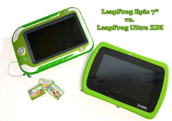 Tablets for Kids : Comparing the LeapFrog Epic Vs  LeapFrog
