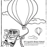 The Bad Book Quick Draw Coloring Print Sheet