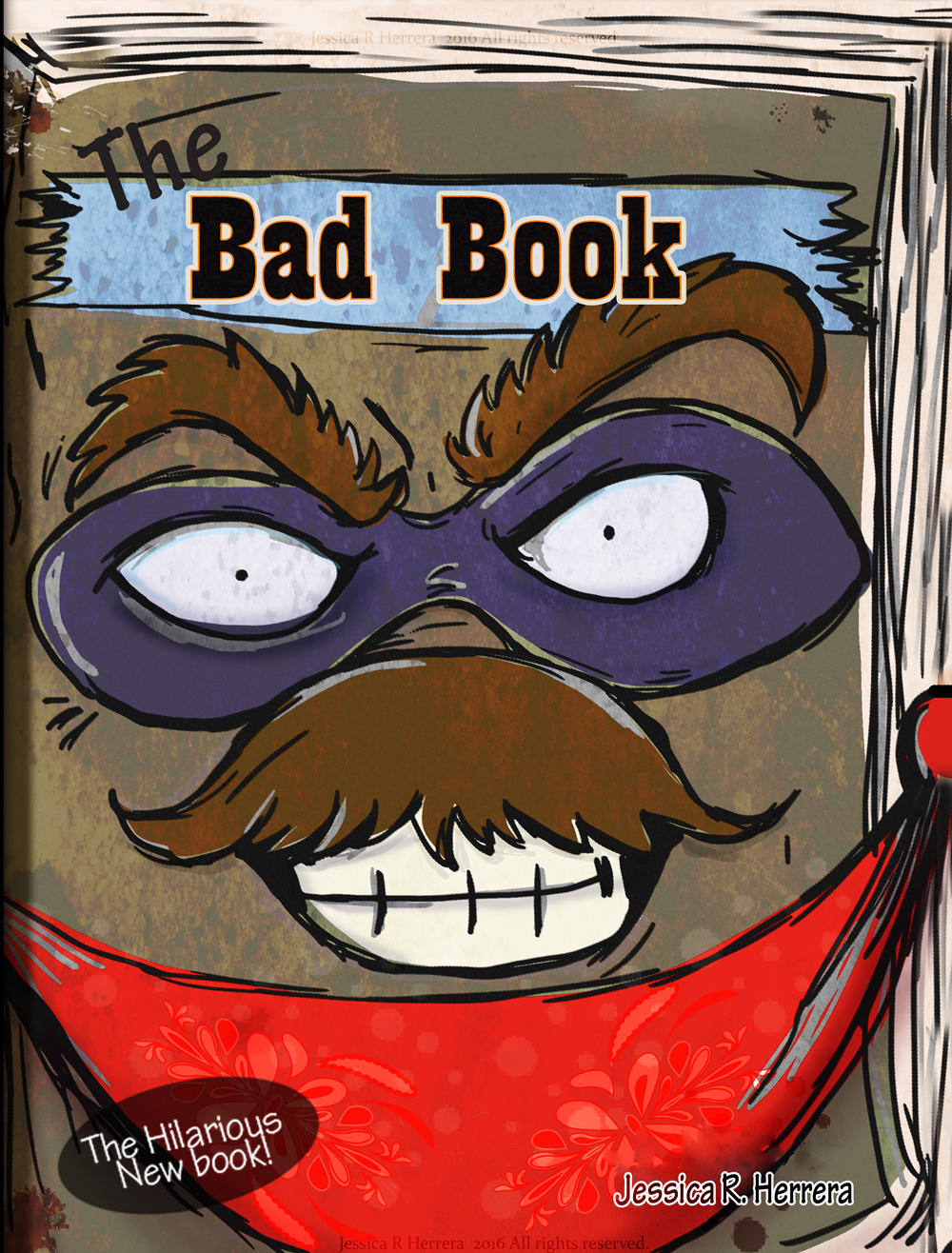 The Bad Book by Jessica R. Herrera