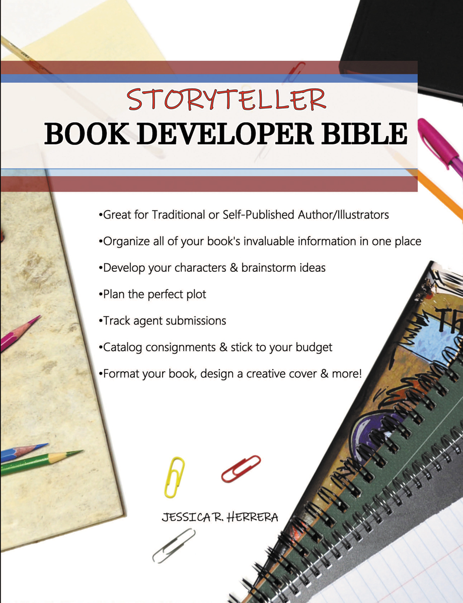 Storyteller Book Developer Bible Front Cover